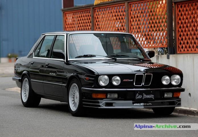 Alpina Archive Fahrzeug Profil Bmw Alpina B10 3 5 019
