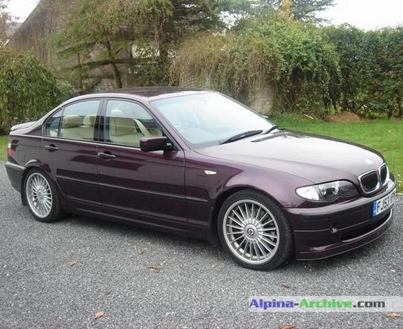 Alpina Archive Car Profile Bmw Alpina B3 S 059