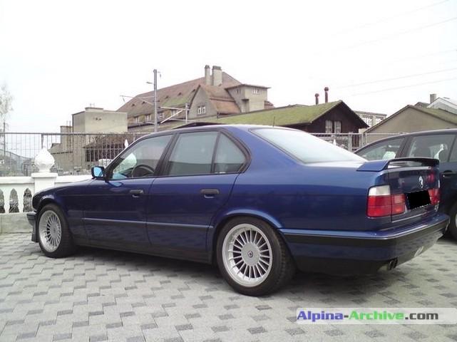 Alpina Archive Car Profile Bmw Alpina B10 Biturbo 473