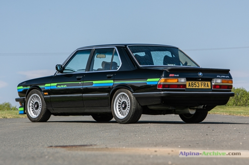 Alpina Archive Car Profile Bmw Alpina B9 3 5 307