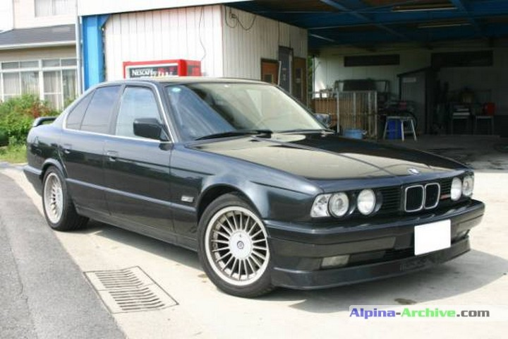 Alpina Archive Car Profile Bmw Alpina B10 3 5 1 520
