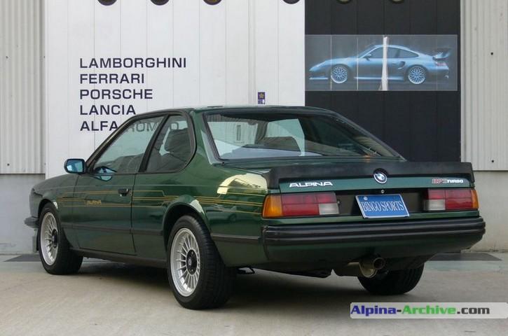 Alpina Archive Fahrzeug Profil Bmw Alpina B7 S Turbo