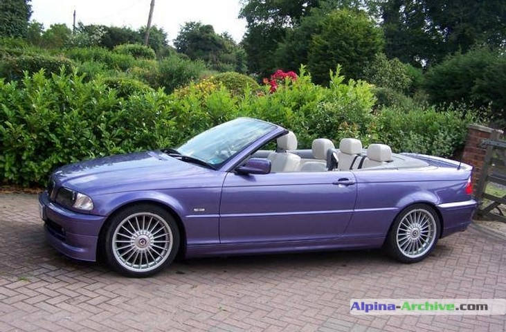 Alpina Archive Car Profile Bmw Alpina B3 3 3 Cabrio 157