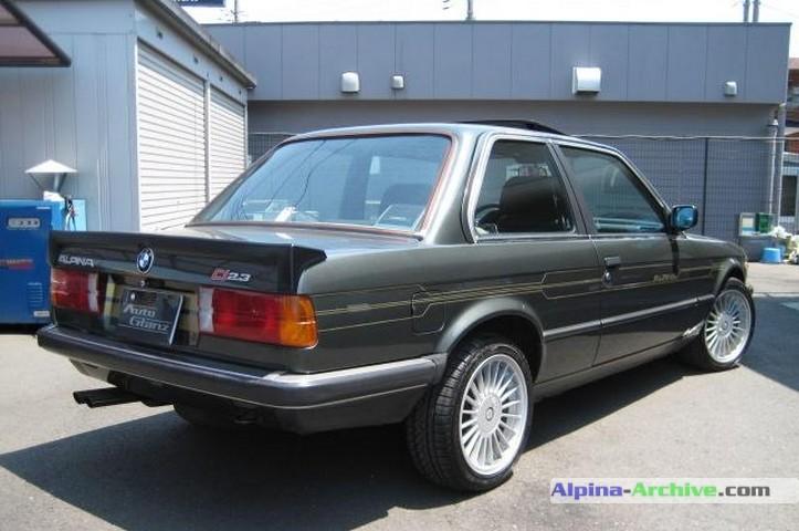Alpina Archive Car Profile Bmw Alpina C1 2 3 1 018