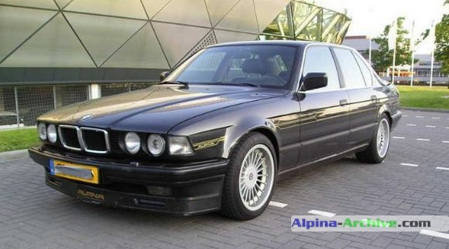 Alpina Archive Car Profile Bmw Alpina B11 3 5 087