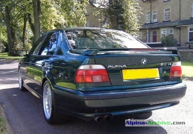 Alpina Archive Car Profile Bmw Alpina B10 V8 573