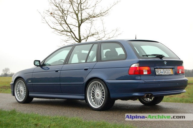 Alpina Archive Car Profile Bmw Alpina B10 V8 S Touring 009