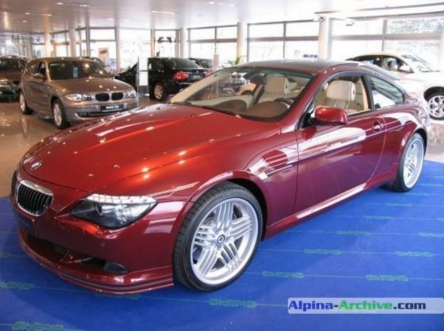 alpina archive car profile bmw alpina b6 s coupe 196. Black Bedroom Furniture Sets. Home Design Ideas
