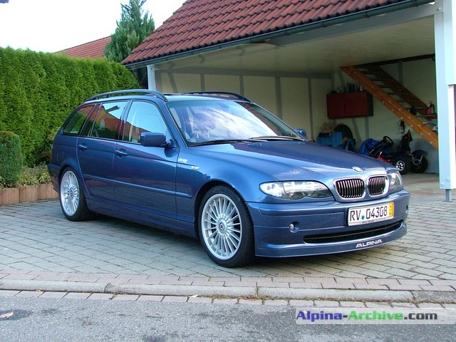 Alpina Archive Car Profile Bmw Alpina B3 S Touring 027