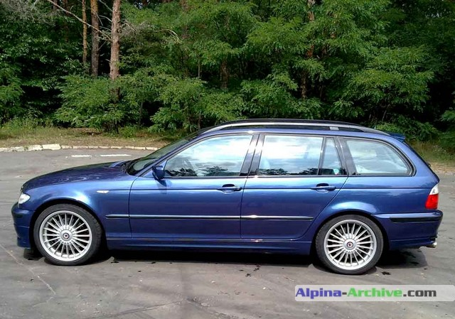 Alpina Archive Car Profile Bmw Alpina B3 3 3 Touring