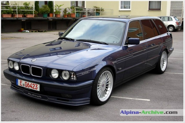 Alpina Archive Car Profile Bmw Alpina B10 4 6 Touring 01
