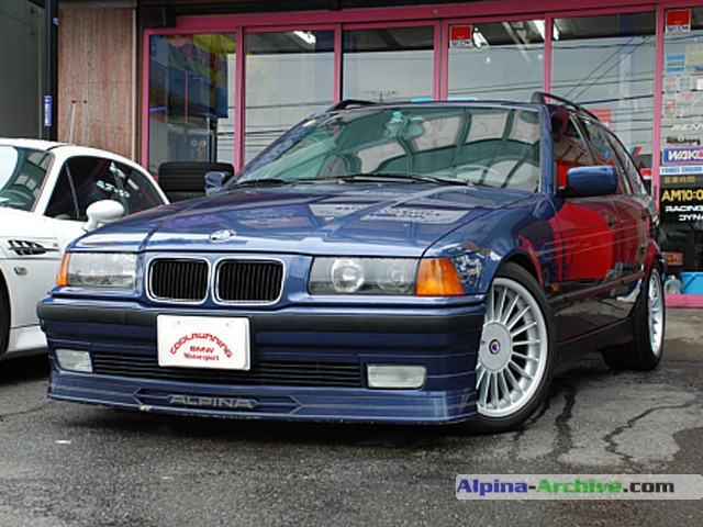 Alpina Archive Fahrzeug Profil Bmw Alpina B3 3 2