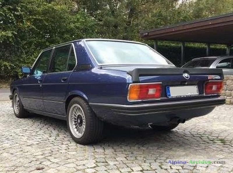 Alpina Archive Car Profile Bmw Alpina B7 S Turbo 060