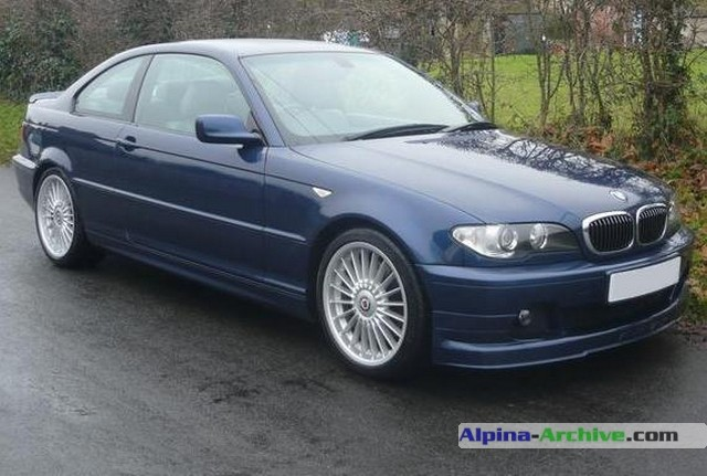 Alpina Archive Car Profile Bmw Alpina B3 S Coupe 091