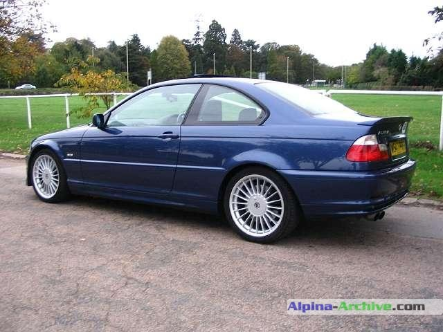 Alpina Archive Car Profile Bmw Alpina B3 3 3 Coupe 004