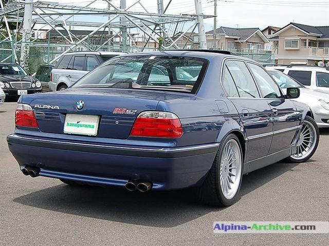 Alpina Archive Car Profile Bmw Alpina B12 5 7 029