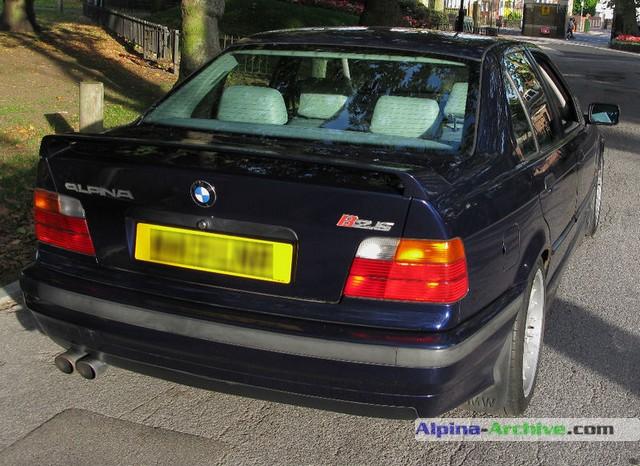 Alpina Archive Car Profile Bmw Alpina B2 5 L0006